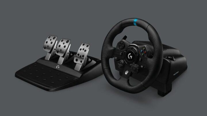 """Logitech G923, il nuovo volante per un'esperienza """"ultra-realistica"""""""
