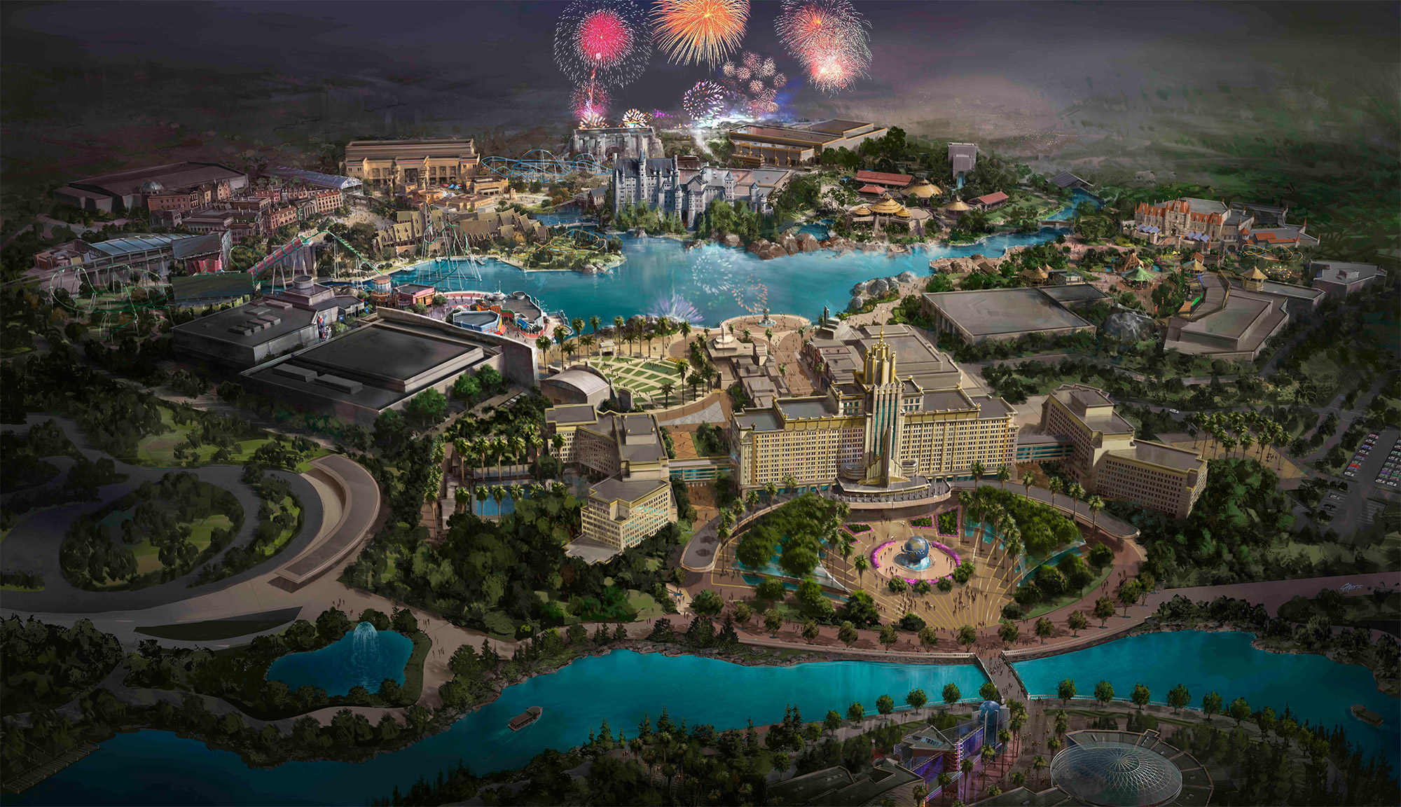 Universal Studios, a Bejing apre il nuovo parco a tema