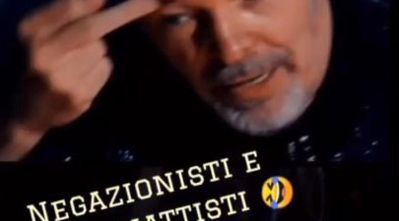 Vasco Rossi contro i negazionisti