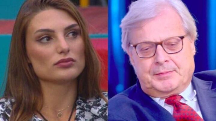 Franceska Pepe nega la relazione con Sgarbi: lui svela la verità a Live-Non è la d'Urso