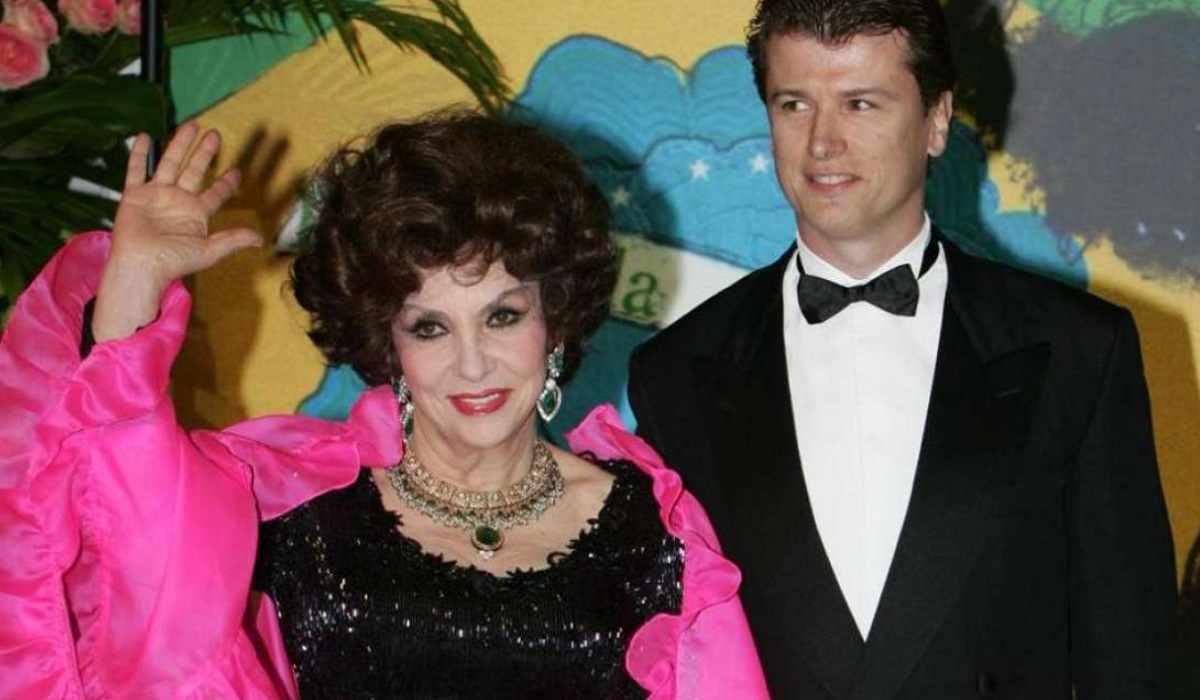 Javier Rigau e Gina Lollobrigida