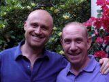 Rudy Zerbi e il padre Davide Mengacci