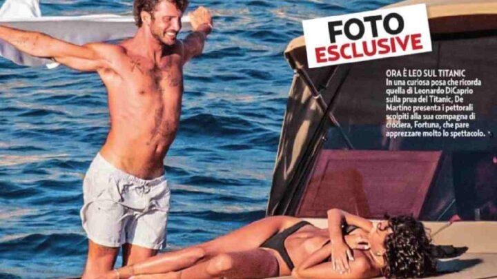 De Martino paparazzato con Fortuna, chi è il presunto nuovo flirt di Stefano?