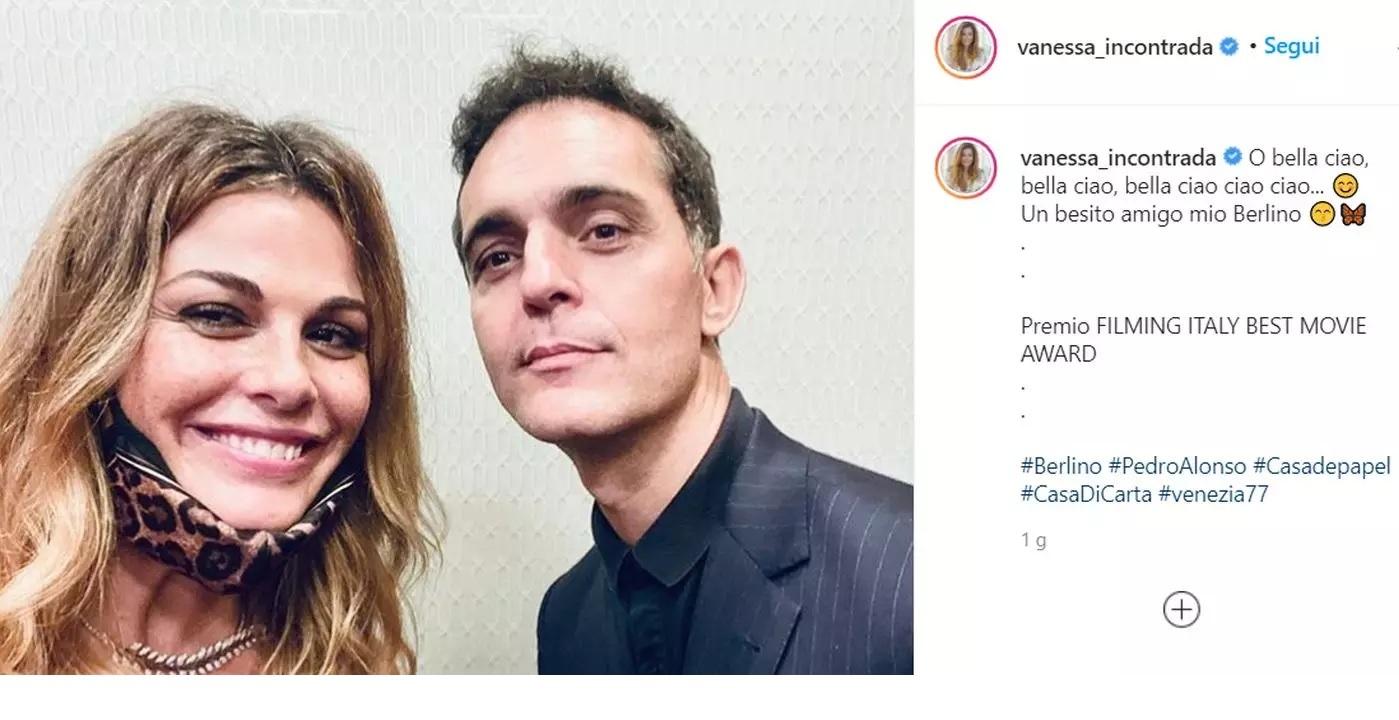 Vanessa Incontrada e Pedro Alonso