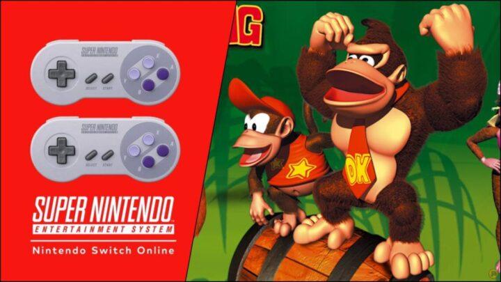 Donkey Kong Country 2 in arrivo su Nintendo Switch Online