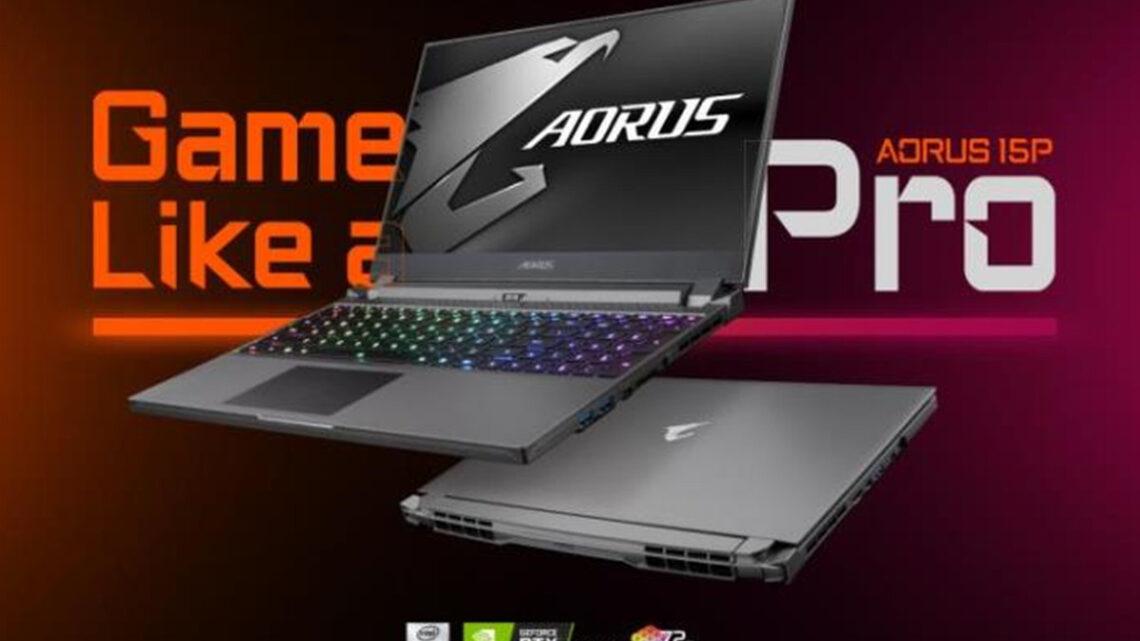 Aorus 15P, il portatile da gaming pensato per l'e-Sport