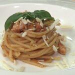 Cotto e Mangiato, ricetta 27 ottobre 2020: pasta e gamberi con pesto