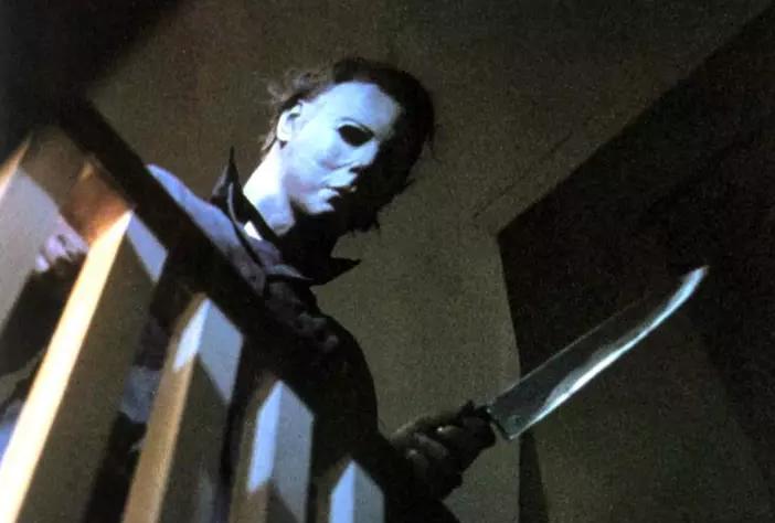 Michael Myers con il suo coltello in mano