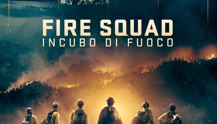 fire squad incubo di fuoco locandina