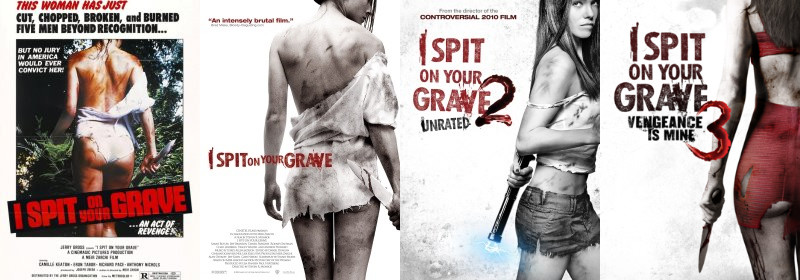 I spit on your grave, le locandine