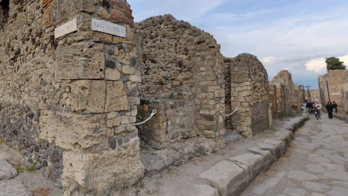 Street View di Pompei