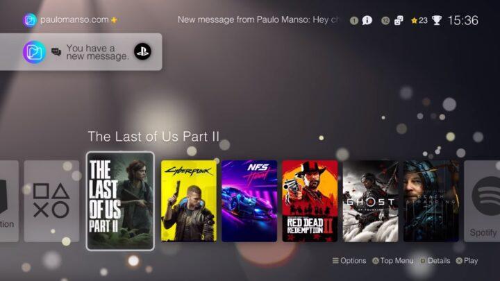 PlayStation 5, un nuovo video ci mostra la nuova interfaccia utente