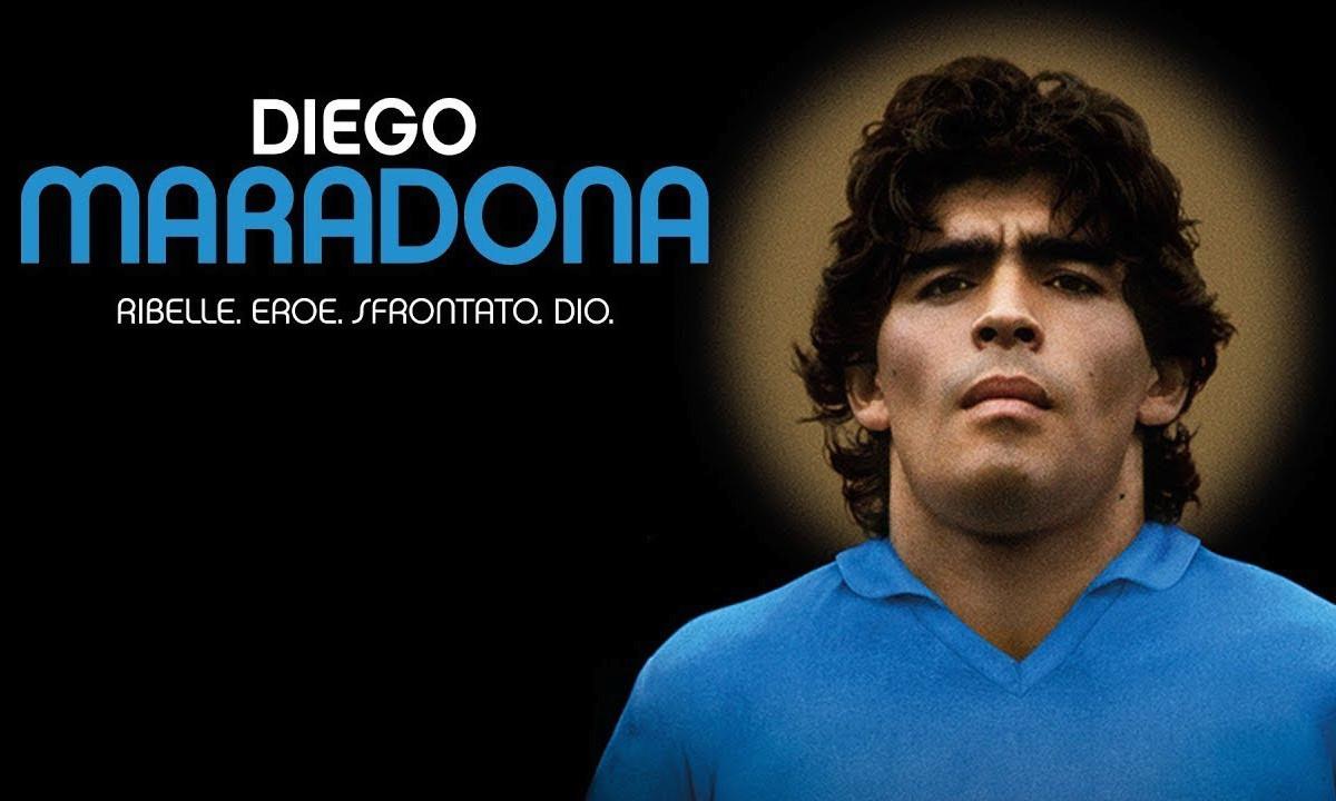 Diego maradona locandina