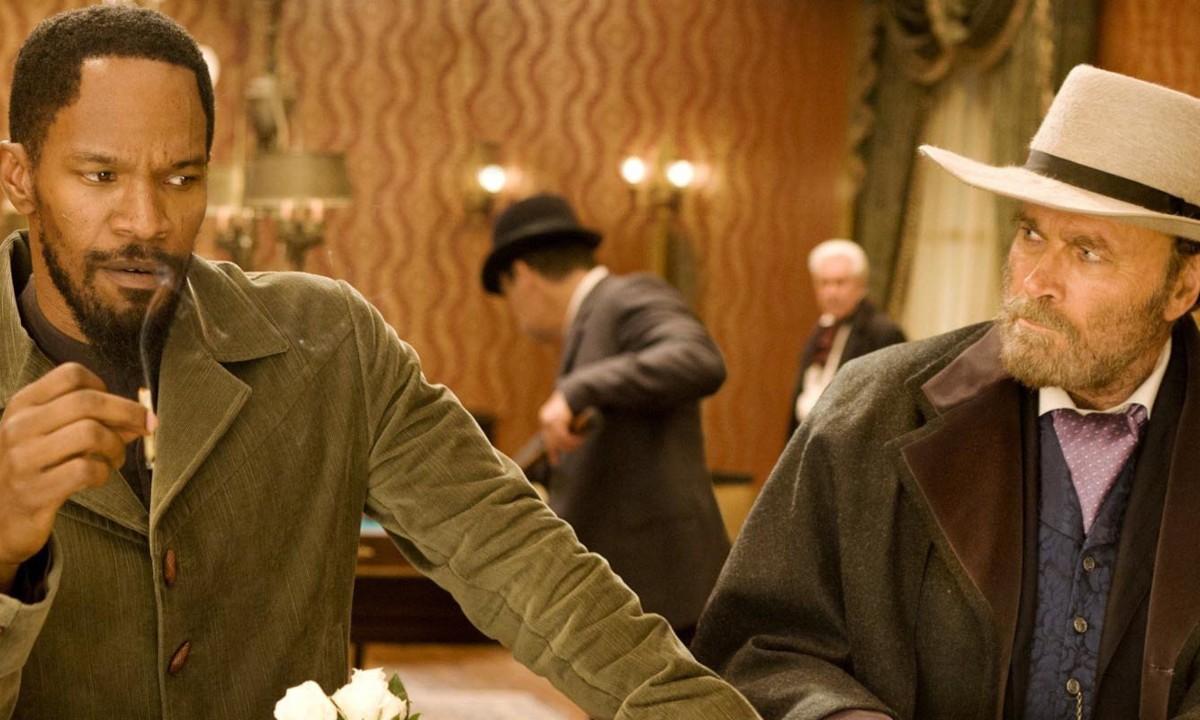 Jamie Foxx e Franco Nero