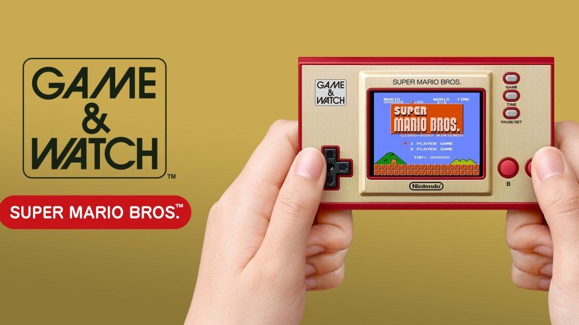 Nintendo, ritorno al passato con il nuovo Game & Watch di Super Mario