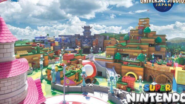 Super Nintendo World, l'apertura del parco con le montagne russe a tema Mario Kart