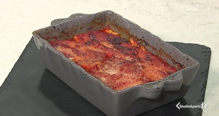 Cotto e Mangiato ricetta del 14 dicembre 2020: parmigiana di zucca