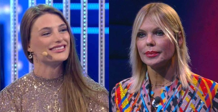 """Francesca Pepe e Matilde Brandi fanno pace a Domenica Live, la D'Urso: """"Mi piace farvi riunire"""""""