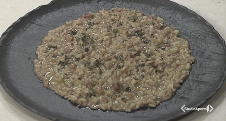 Cotto e Mangiato ricetta 2 dicembre 2020: risotto porcini e castagne