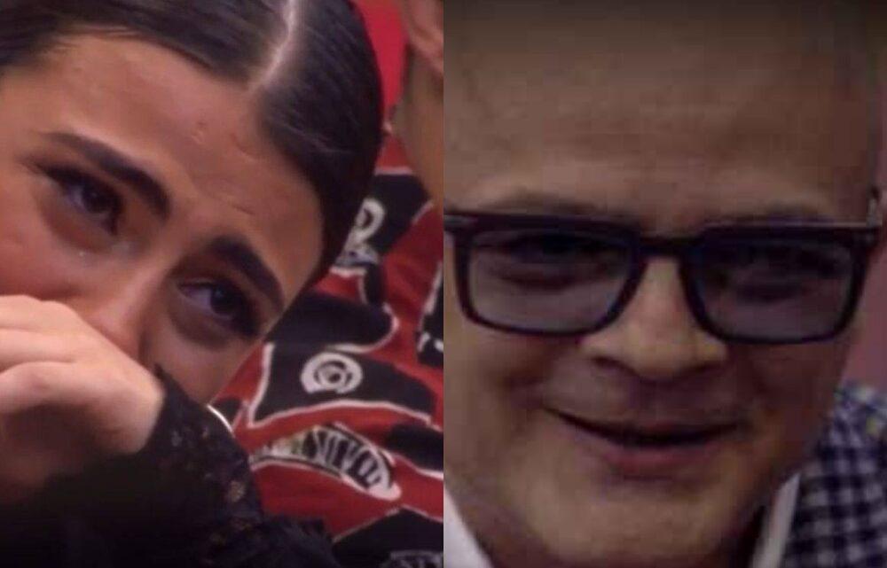 """GF Vip, papà Mario incontra la figlia Giulia Salemi: """"Sono venuto per chiederti scusa"""""""