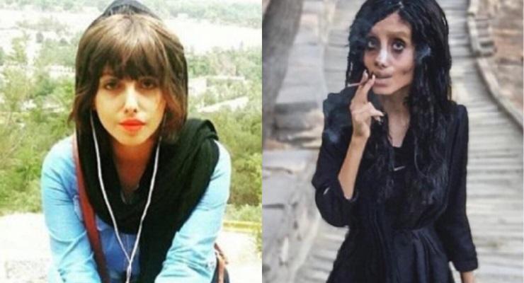 Sahar Tabar prima e dopo
