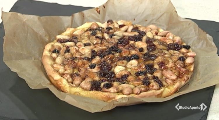 Cotto e Mangiato ricetta 15 gennaio 2021: torta di frutta secca