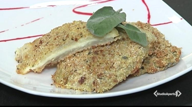Cotto e Mangiato ricetta 21 gennaio 2021: cotoletta di finocchi e formaggio