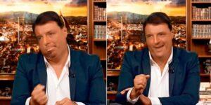 """Renzi e Conte, Striscia la Notizia aveva previsto la crisi già nel 2019: il video """"deepfake"""""""