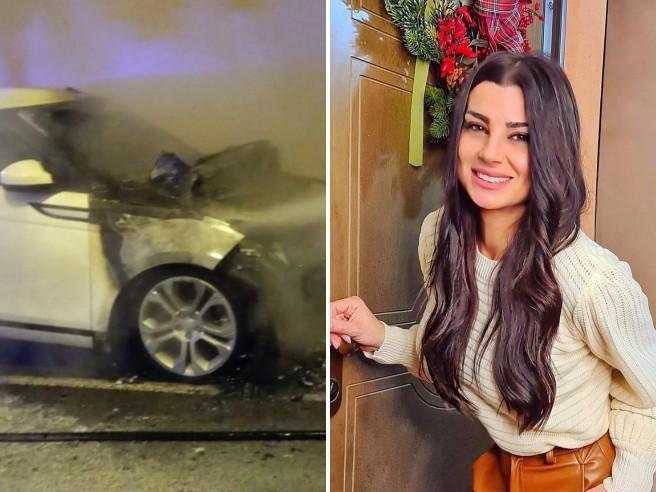 Serena Enardu, incendiata la sua auto: accade per la seconda volta in sei mesi