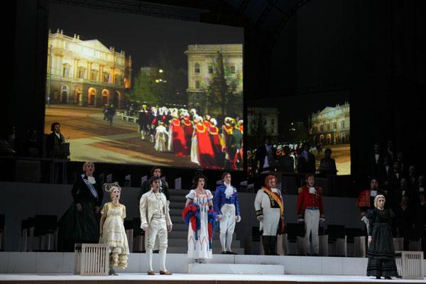 I viaggi di Reims di Rossini in onda su Rai 5