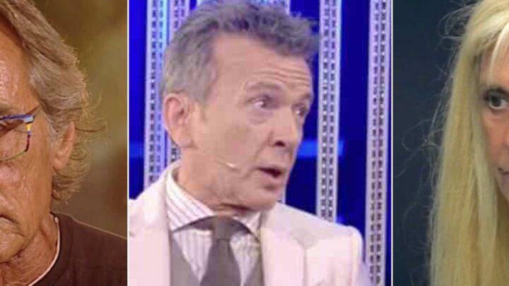 """GF Vip, gaffe di Pupo su Nino Formicola: """"Ma è morto"""""""