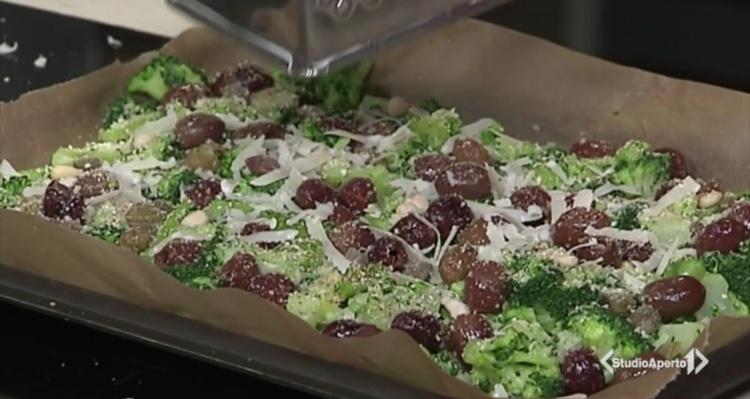 Cotto e Mangiato ricetta 22 febbraio 2021: broccoli versione saporita