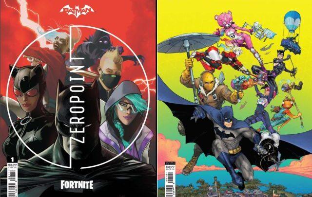 Fortnite, in arrivo il primo fumetto crossover a tema Batman