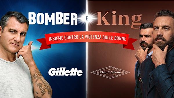 bomber king gillette no violenza donne