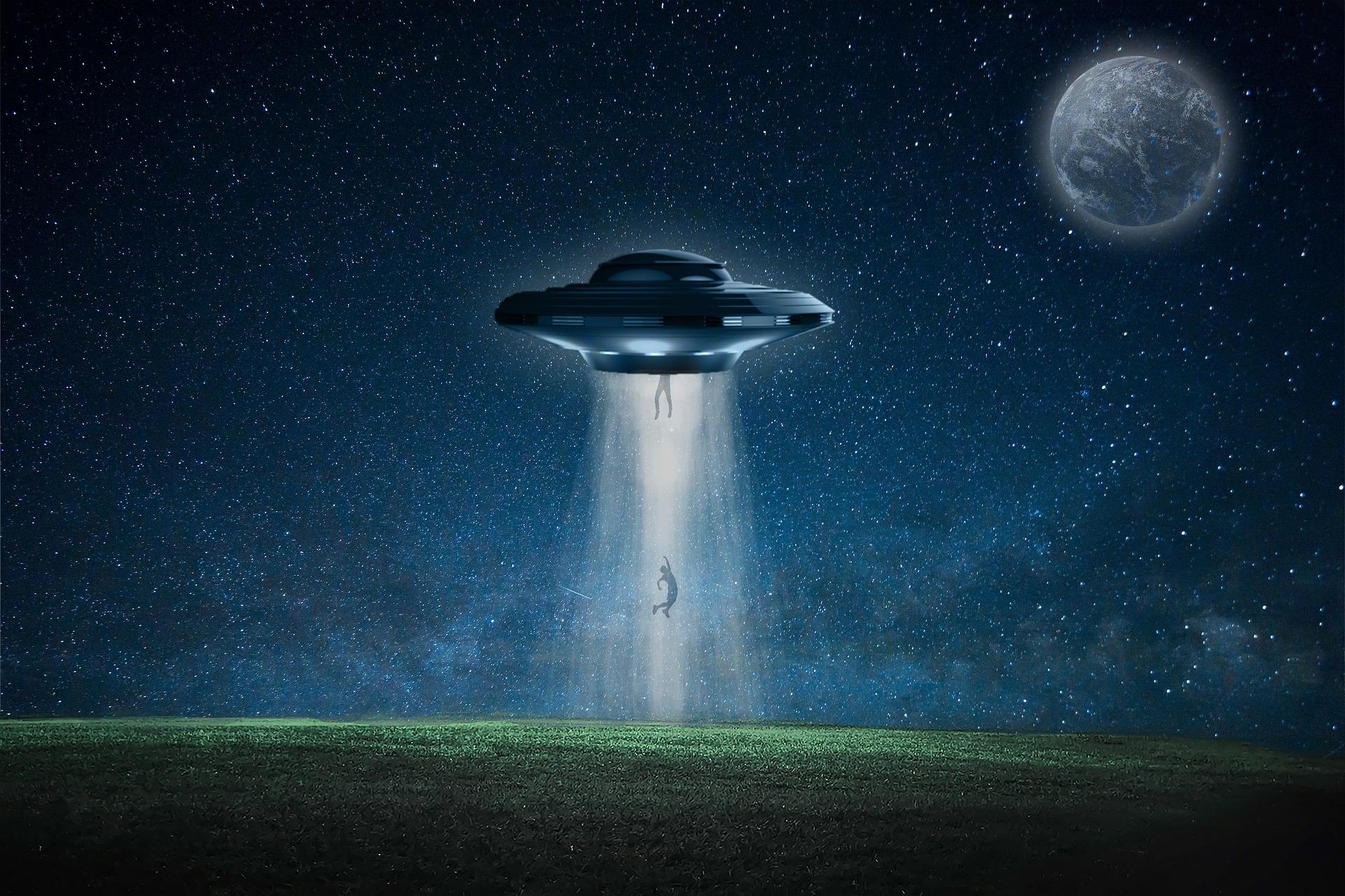 rapita dagli alieni