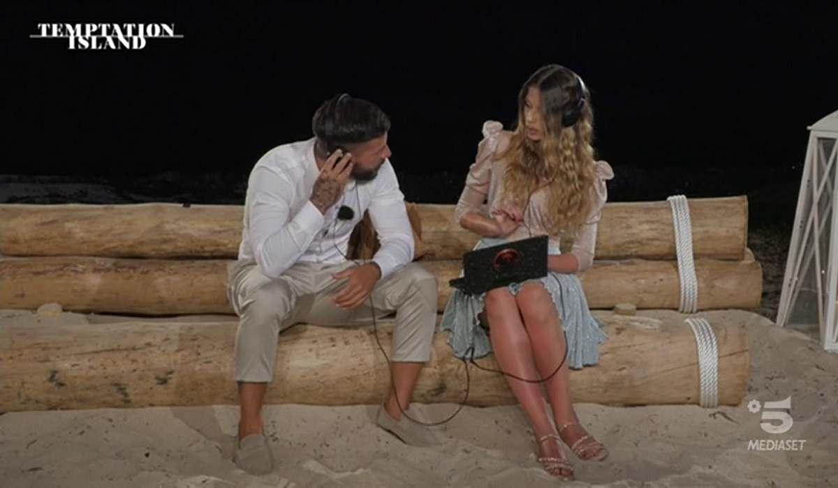 Floriana lascia Federico a Temptation Island