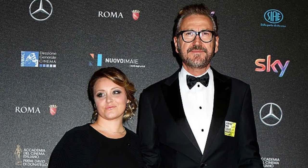 Marco Giallini e la moglie Loredana